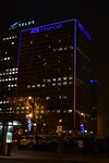ATB lit up their building with Kids Kottage colours!
